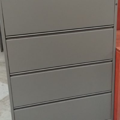 "Used 4-drawer 36"" lateral file"