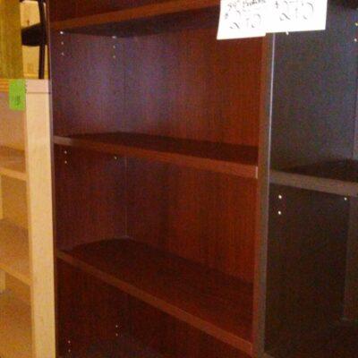 OS 7' bookcase mahogany