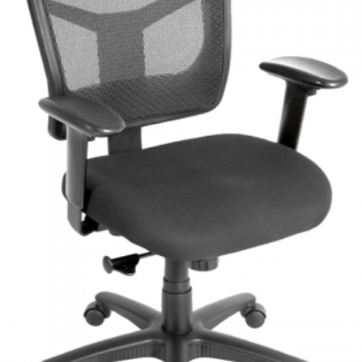 C762 Mesh back task chair black