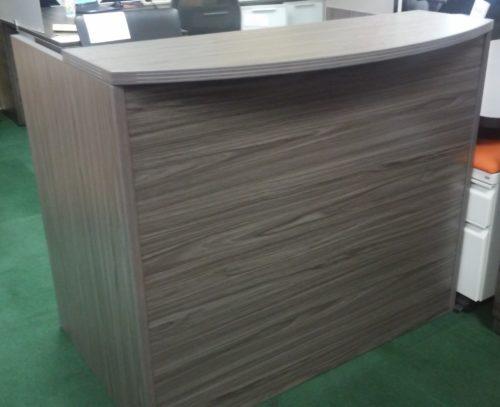 "48"" reception desk gray"
