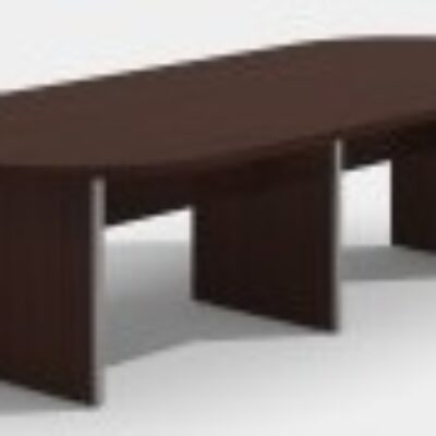 SDCA 10' oval conference table Mahogany