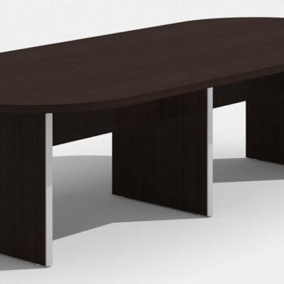 SDCA 10' oval conference table espresso