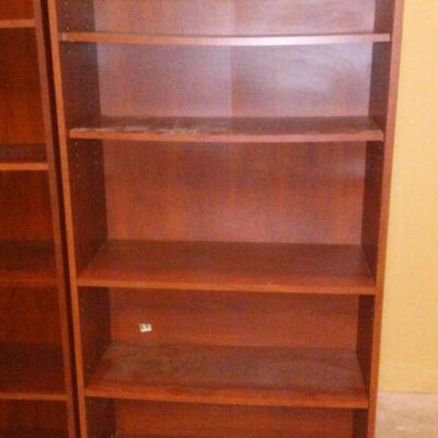 Used BUSH bookcase cherry