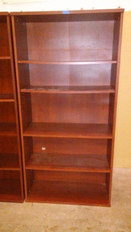 Used BUSH bookcase cherry
