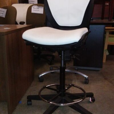 Used drafting chair white