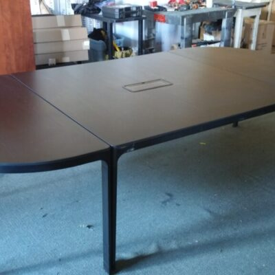 Used IKEA BEKANT Conference table black