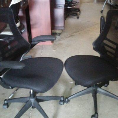 Used mesh back task chair black