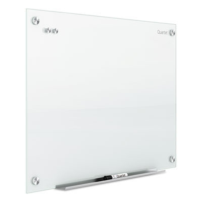 Magnetic Glass Marker Board 96 x 48 White Glass
