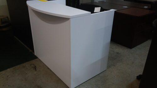 OS 4' reception desk gray